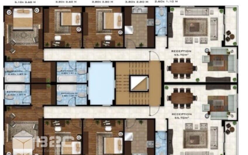شقة للبيع في اكتوبر بيت الوطن