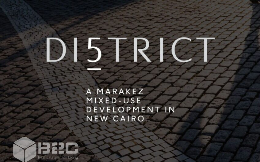District 5 Marakez New Cairo Developed by: Marakez