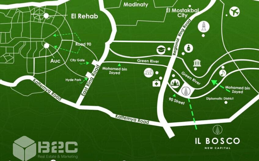 IL Bosco New Capital Compound Developed by: Misr Italia